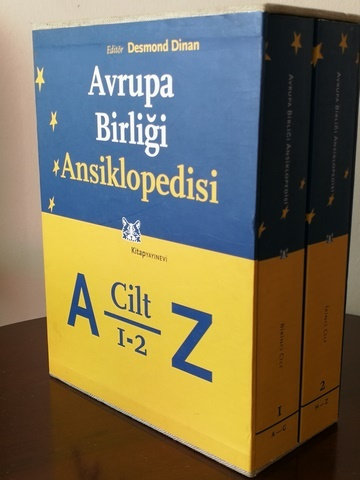 Avrupa Birliği Ansiklopedisi 2 Cilt Takım [Orijinal Kutusunda]