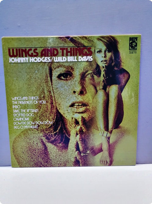 Wings and Things- Johnny Hodges / Wild Bill Davis- Plak-LP