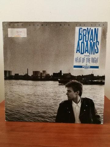 Bryan Adams Into The Fire LP Plak