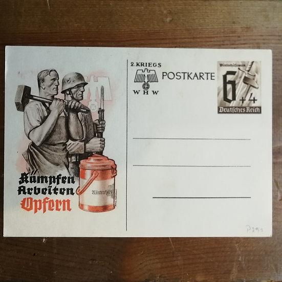 1940 Kış yardımı 3 Reich dönemi Antiye