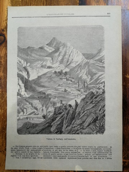 Torbalı manzarası, Anadolu/ Veduta di Trabaly, nell'Anatolia