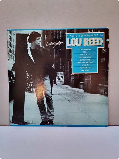 City Lights- Lou Reed- Plak- LP
