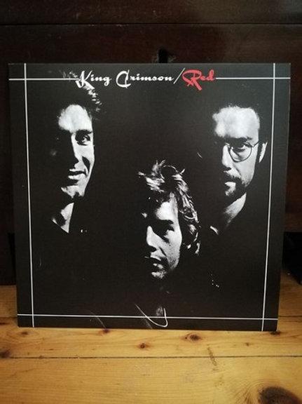 King Crimson Red LP-Plak Tıpkı Basım