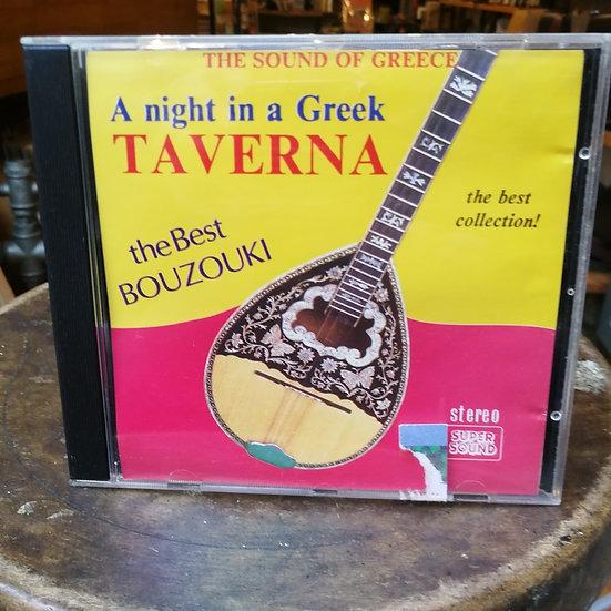 A Night in a Greek Taverna The Best Bouzouki CD