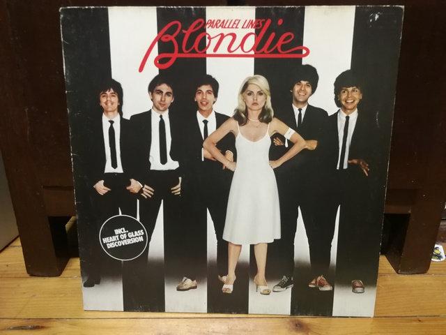 Blondie Parallel Lines LP Plak