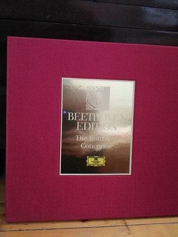 Beethoven Edition Die Konzerte Concertos Plak