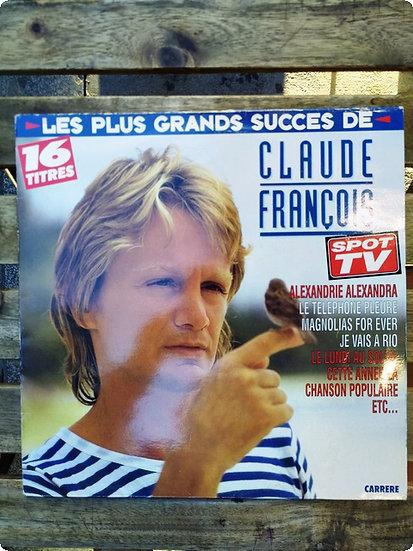 Claude François- Les Plus Grands Succes de- Plak -LP