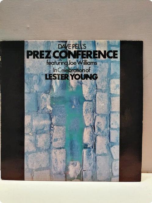 Dave Pell's Prez Conference featuring Joe Williams-Plak-LP