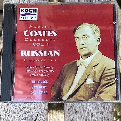 Albert Coates Conducts Vol. 1- Russian Favorites CD