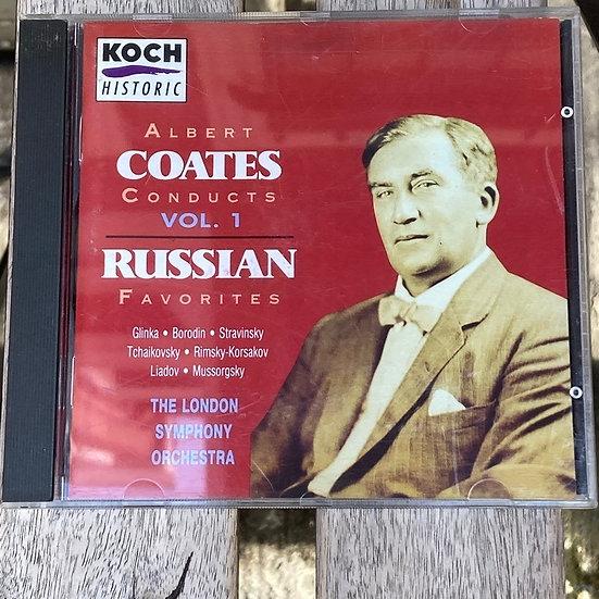 Albert Coates Conducts Vol. 1 Russian Favorites CD