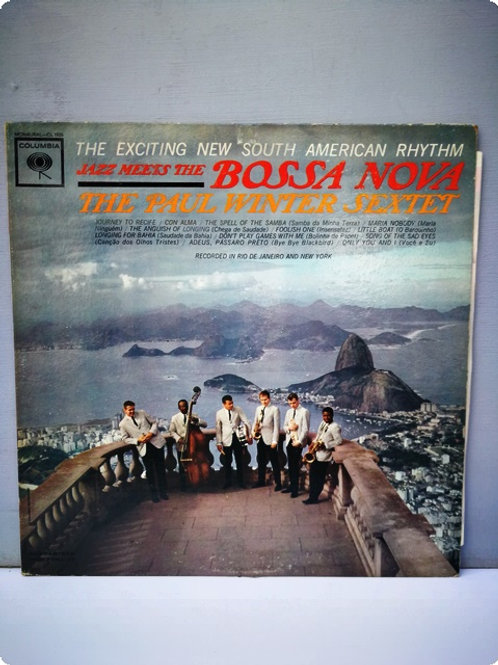 Jazz Meets The Bossa Nona- The Paul Winter Sextet- Plak- LP