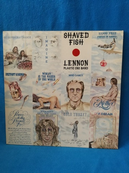 "John Lennon Plastic Ono Band""Shaved Fish (collectible Lennon)"