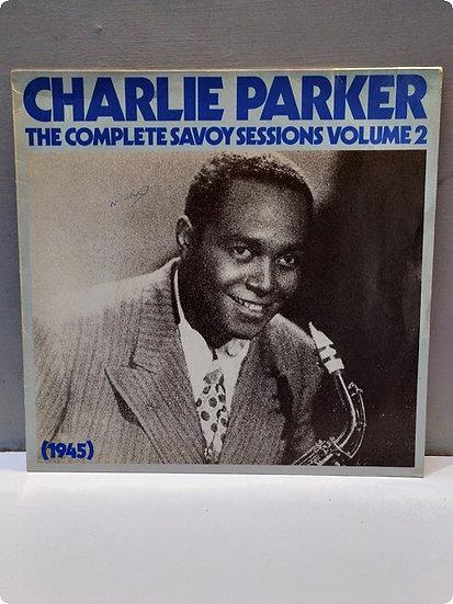 Charlie Parker- The complete Savoy Sessions Volume- 2 Plak-Double LP