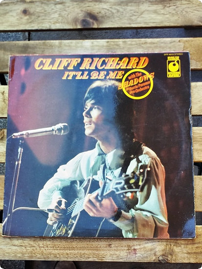 Cliff Richard- It'll be me Plak - LP