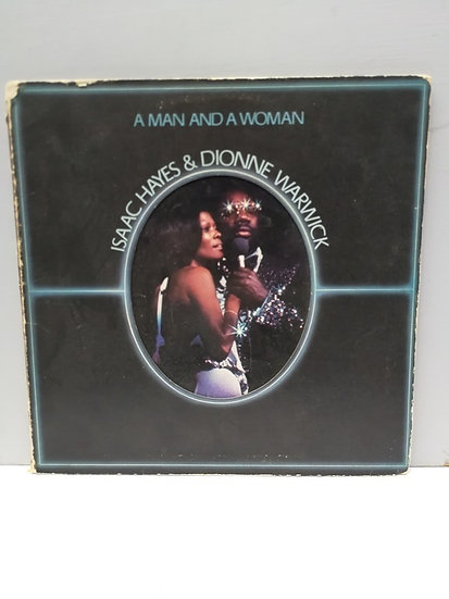 A Man and a Woman Isaac Hayes and Dionne Warwick 2 Plak