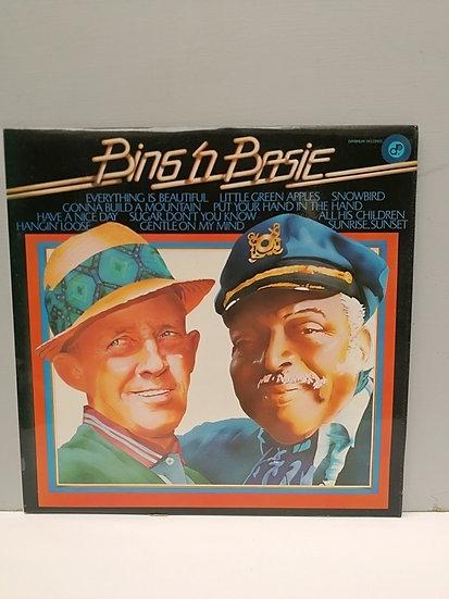 Bing'n Count Basie LP Plak