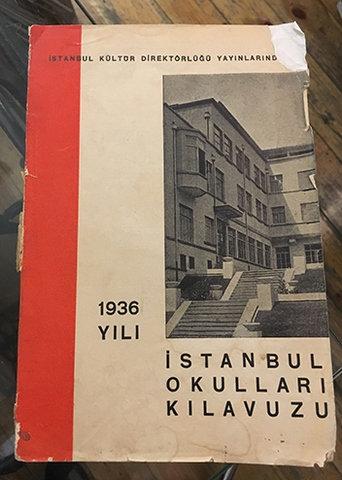 1936 YILI İSTANBUL OKULLARI KILAVUZU