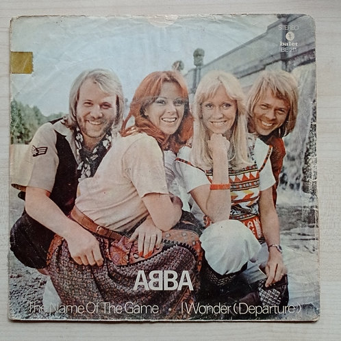 Abba The name of the game - I wonder (departure) (SADECE KAPAK)