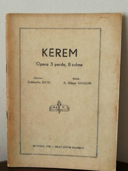 Kerem (Opera 3 Perde, 8 Sahne)