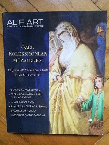 Alif Art Özel Bir Koleksiyondan Nadir Kitaplar Müzayedesi
