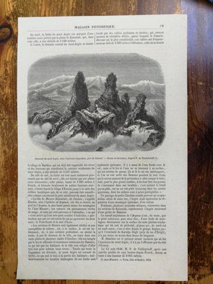 Erciyes Dağı, Kapadokya, Kayseri yakınları