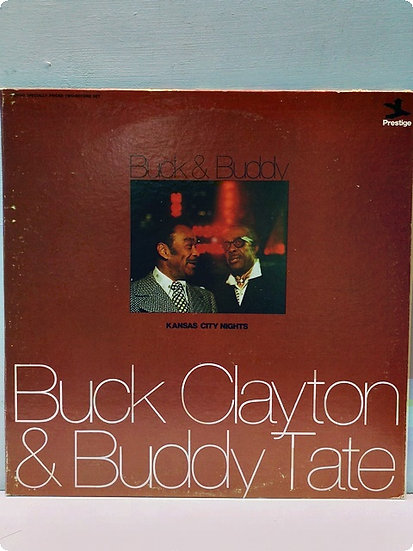 Buck Clayton and Buddy Tale Kansas City Nights 2 Plak (Double LP)