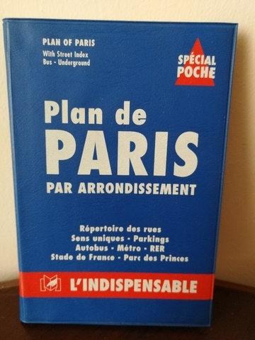 Plan de Paris par Arrondissement