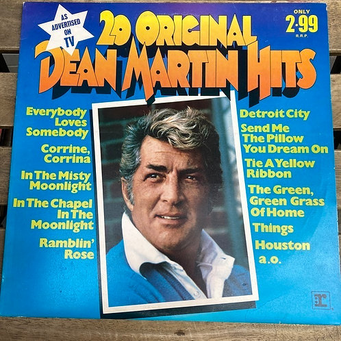 20 Original Dean Martin hits Plak-LP