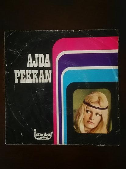 Ajda Pekkan İstanbul plak 45'lik (kapaktır)