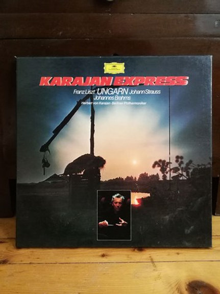 Karajan Express Franz Listz UNGARN Johann Strauss Johannes  Brahms