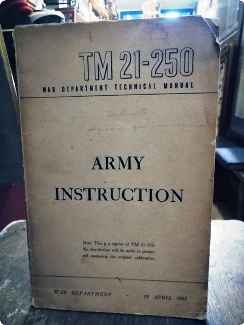 Army Instruction