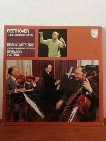 Beethoven Beaux Art Trio Bernard Haitink LP Plak