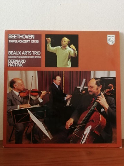 Beethoven- Beaux Art Trio- Bernard Haitink