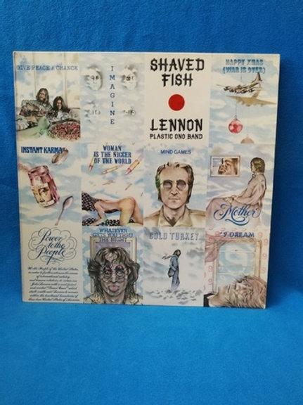"John Lennon Plastic Ono Band""Shaved Fish (collectible Lennon)"