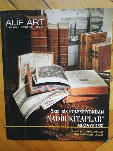 ALİF ART ÖZEL KOLEKSİYONLAR MÜZAYEDESİ , 19 ŞUBAT 2012