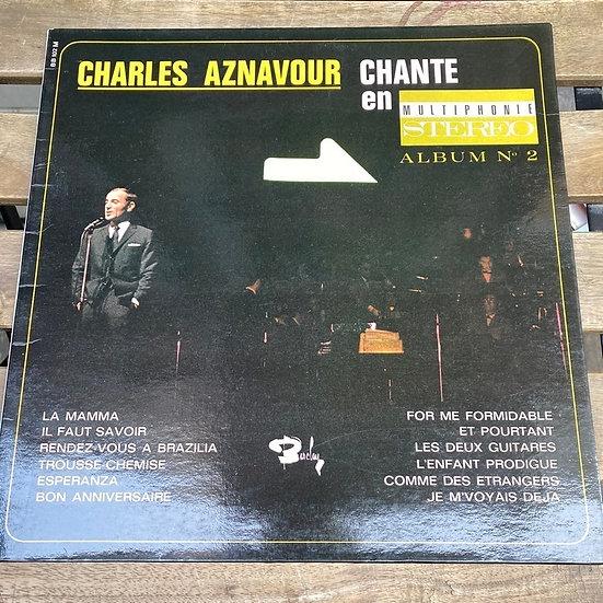 Charles Aznavour – Chante En Multiphonie (2 Plak)