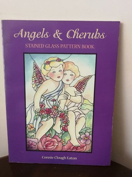 Angels & Cherules : Stained Glass Pattern Book