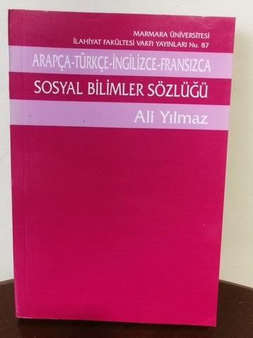 Arapça - Türkçe - İngilizce - Fransızca Sosyal Bilimler Sözlüğü