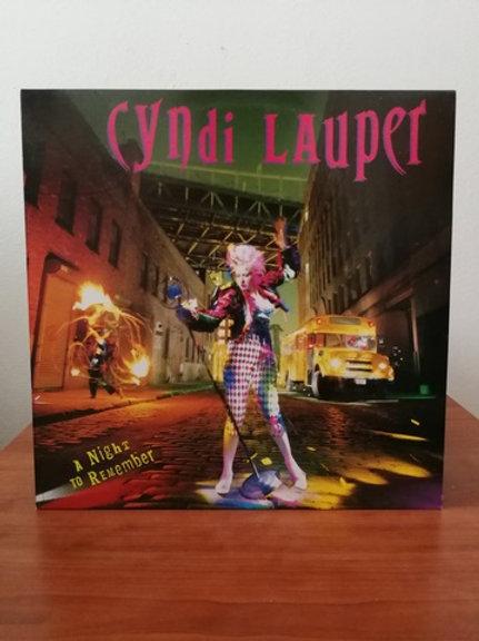 Cyndi Lauper -A Night To Remember