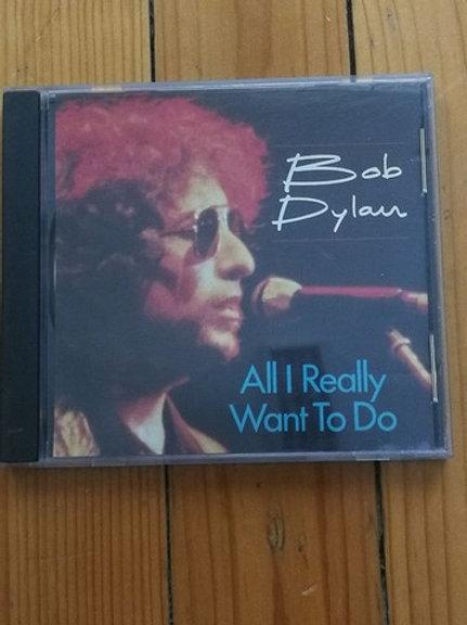 BOB DYLAN  All I Really Want To Do ORIGINAL 1989 Germany 2. EL CD