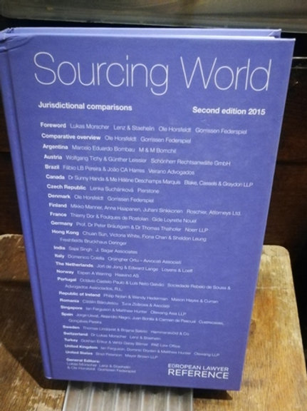 Sourcing World \ Jurisdictional Comparisons