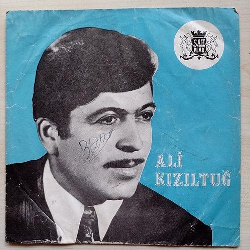 Ali Kızıltuğ Şah plak 45'lik (SADECE KAPAK)