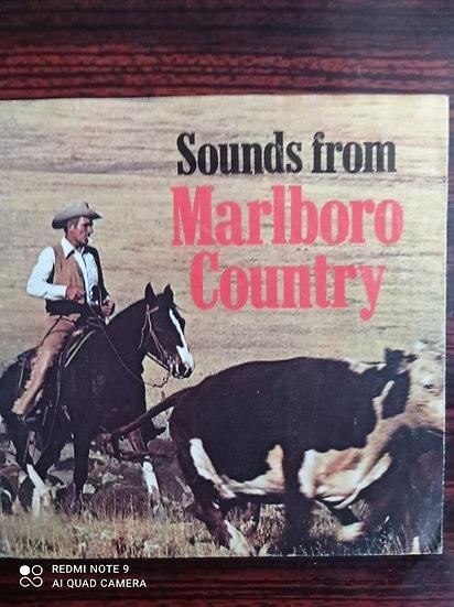 4 great sounds from Marlboro Country Kağıt 45'lik