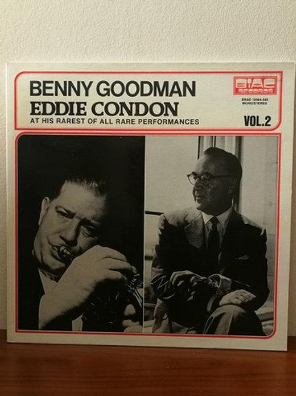 Benny Goodman -Eddie Condon At His Rarest of All Rare Performances Vol:2 2Plak