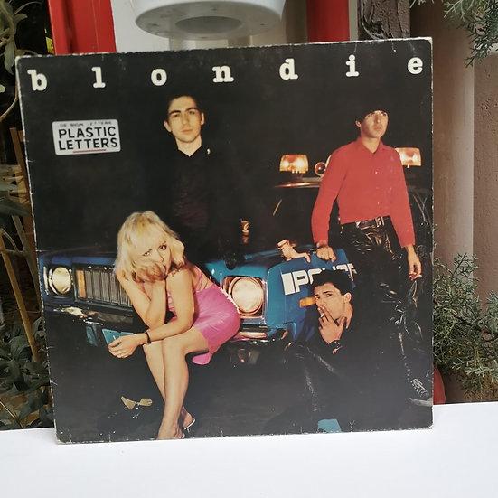 Blondie Plastic Letters LP Plak