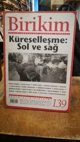 Birikim Aylık Sosyalist Kültür Dergisi Sayı: 139