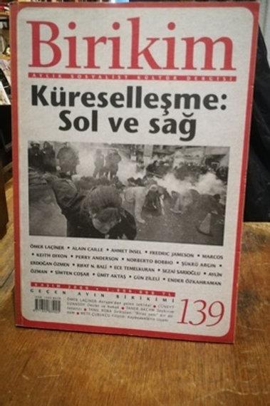 Birikim Aylık Sosyalist Kültür  Dergisi Sayı : 139