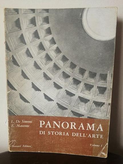Panorama - Di Storia Dell' Arte Volume 1