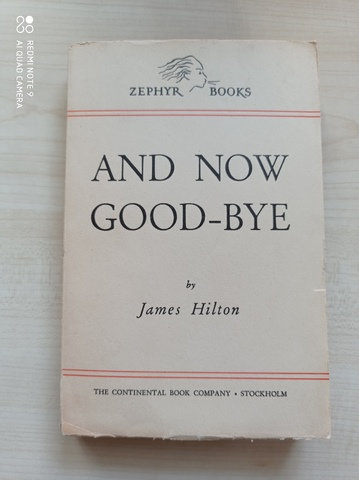And Now Good Bye
