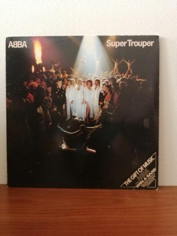ABBA Super Trouper LP Plak